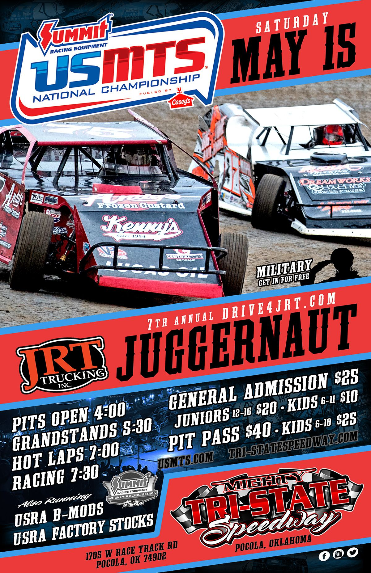 7th Annual USMTS JRT Trucking Inc. Juggernaut presented by Hacienda Mechanical